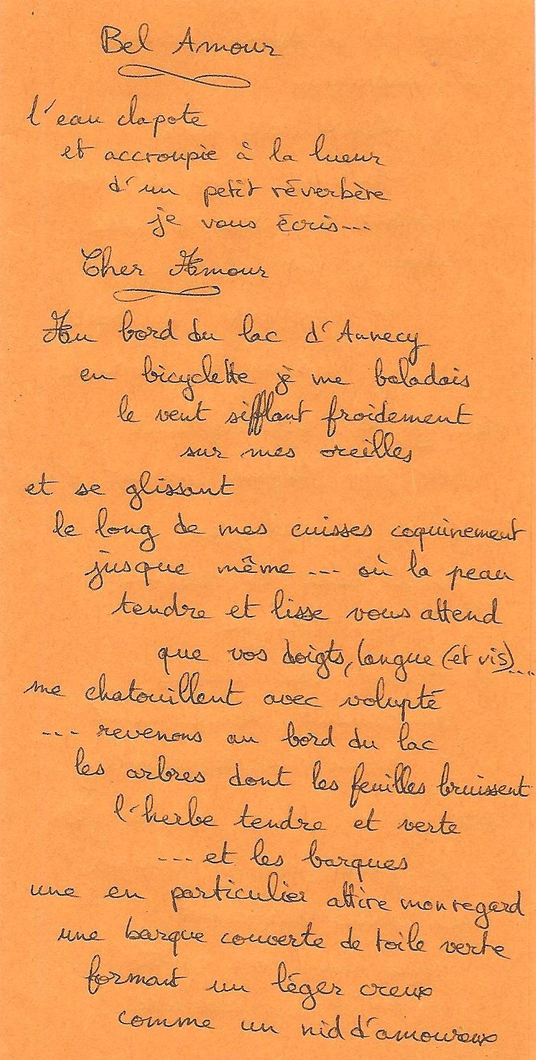 bel amour - 1